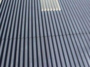 Asbestos roofing - Asbestoseal 20 installation